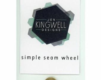 """Simple Seam Wheel 1/4"""" by Jen Kingwell Designs"""