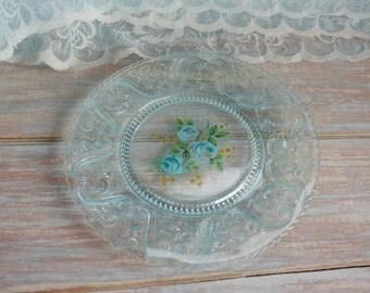 Sandwich glass plate-- Free Shipping