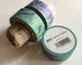 SALE mt limited edition masking tape 'Teal Birds' mt-expo exclusive
