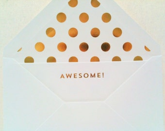 Awesome Note Cards and Envelopes