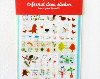 Toffenut deco stickers