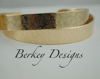 Keepsake Brass Custom 3/8 Hand Stamped Secret Message Bracelet