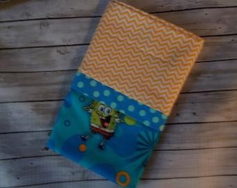 Standard Pillow Case - Sponge Bob Pillow Case - Cartoon Pillow Case-Standard Size Sponge Bob Pillow Case - Kids Standard Pillow Case