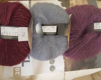 Soft Dream kid mohair - silk blend - exquisite Italian made yarn