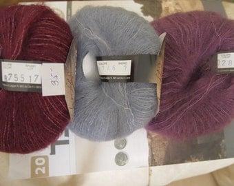 Soft Dream kid mohair - silk blend - exquisite Italian made yarn
