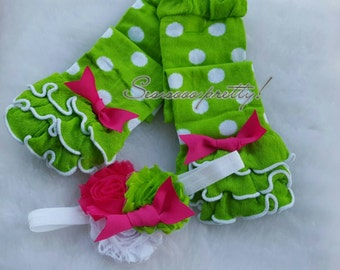 Legwarmer and headband set