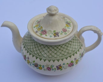 Mason's Patent Ironstone Madrigal Pattern Teapot Made in England Vintage Teapot Vintage Serving Vintage Kitchen Vintage Housewares