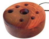 Cedar Ocarina Flute - Necklace, Oil & Bag Included -