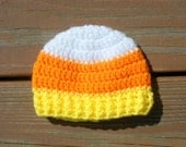 Candy Corn Hat, Fall Photo Prop, Kids Beanie, Halloween Hat, Baby Costume, Toddler Costume, Baby Boy Gift, Infant Girl Hats, Crochet Items