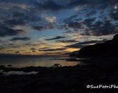 Sunset Photography, Sunset over Lake Erie, Port Colborne Sunset, 8x10 or any size, Landscape Photography, Travel Photography, Lake Erie