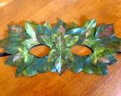 Leaf Mask Woodland Faerie Costume Fantasy Green Man