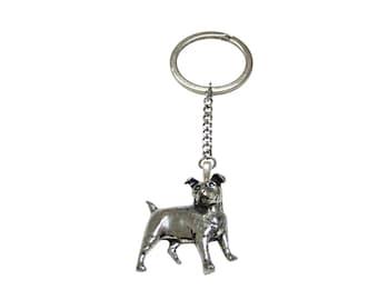 Jack Russel Dog Pendant Keychain