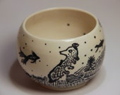 Under The Sea Tea Bowl
