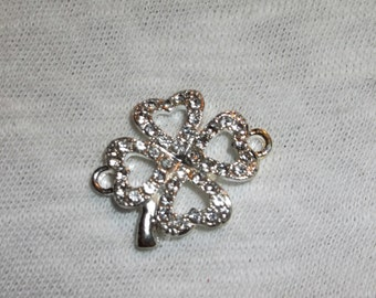 Lucky clover charm suede bracelet, pick your color
