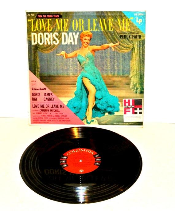 Doris Day Record Lp Album Love Me Or Leave Me Mgm Cinemascope
