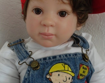 """Reborn Big, Chubby 29"""" Toddler Boy Doll (size of 24 month old) -""""Jules"""""""