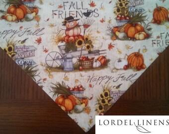 Fall Table Runner, Fall Country Table Runner, Large Table Runner, Fall Home Decor, Table Linens