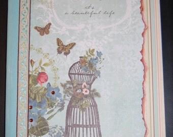 Belle Altered art Notebook/Journal