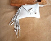 Sale- Deer Horn Pipe with Pouch and Turquoise- 10.00 Off Reg. Price