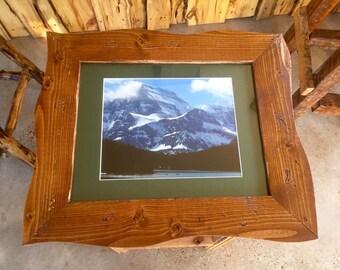 Hand-framed Glacier Park Print (11x14)