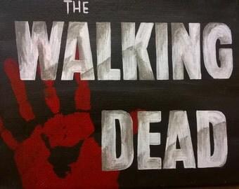 Walking Dead Canvas
