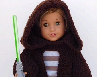 Star Wars Inspired Jedi Robe for American Girl Dolls
