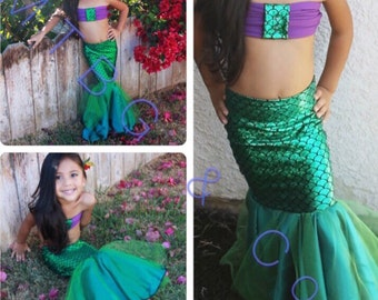 Mermaid costume | Etsy
