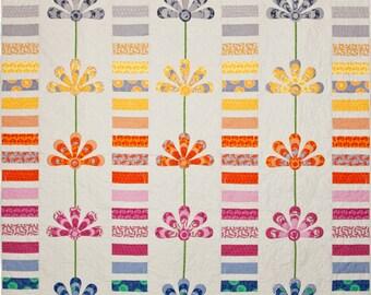 Australis Blooms Quilt Pattern PDF by Emma Jean Jansen - Immediate Download