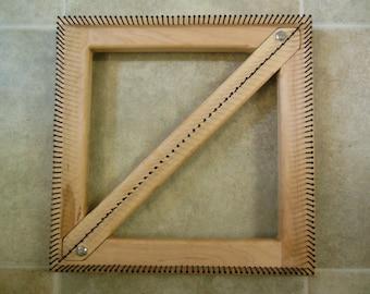 12 inch Convertable square triangle loom