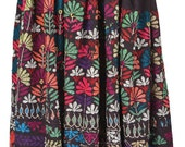 Vintage banjara skirt hobo gypsy belly dance tribal art India BU5