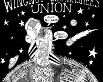 Wingnut Dishwashers Union - Back Patch