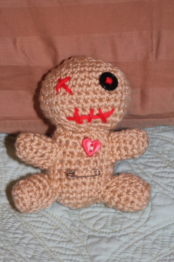 Amigurumi VooDoo doll 5 plush already made