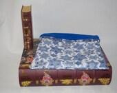 SALE Hanukkah Cotton with Blue Fleece Snuggle Bag