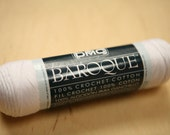 Tatting Thread - White, DMC Baroque Crochet Thread, Size 10, Cotton (Katy's Favorite Thread!)
