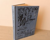 Antique Religious Book - Girls Of The Bible: Told In Simple Language - 1929 - Bible Study