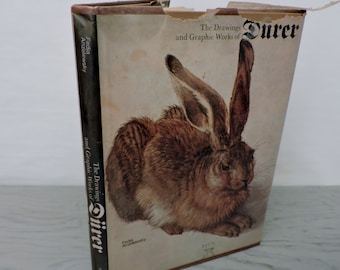 Vintage Art Book - The Drawings and Graphic Works of Durer - 1970 - Art History