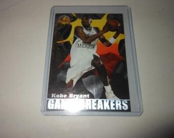 1996 Kobe Bryant rookie card- scoreboard - LA Lakers basketball