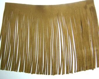 real suede fringes - DIY suede tassels - ready made leather tassels - genuine leather fringes -add on for handbags, tassels, jewelry ,