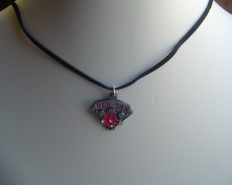 """18"""" Red Sox Charm Necklace"""