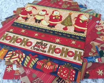 Christmas Scrapbook Paper Pack, Polar Bear, Gingerbread Man, Candy Cane Stripe,  6x6 Paper Stack - 26 Sheets