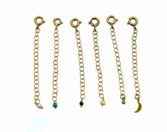 Extender Chain Add On. Gold Fill or Sterling Silver. Make Your Necklace or Bracelet Adjustable. Add Length.