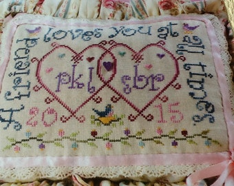 VALENTINE for a FRIEND - Cross Stitch Pattern Only