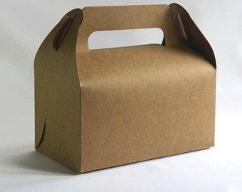 Set of 20, Kraft Cake Box, Gift Box, Favor, Gift, Party