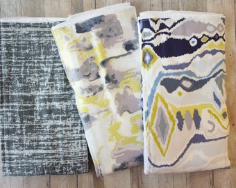 Grey Watercolor Burp Cloths | Oversized Unisex Baby Burp Cloths by JuteBaby
