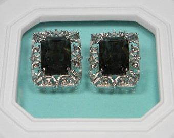 Sarah Coventry Celebrity Clip On Earrings, 60s Bold Party Fabulous, Book Piece