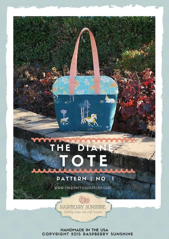 The Diane Tote - PDF Downloadable Pattern