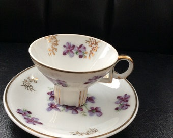 Vintage Demitasse Cup and Saucer Japan