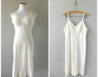 Grunge Floral Slip Dress Vintage 70s Sheer Pleated Nylon Lingerie Nightwear Sz 34 Hippie Boho Festival Dress 1970s Punk Rocker Sheer Dresses