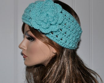 Crochet Ear Warmer, Handmade Accessory Womens Crochet Headband