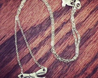 Itty Bitty Bow Necklace